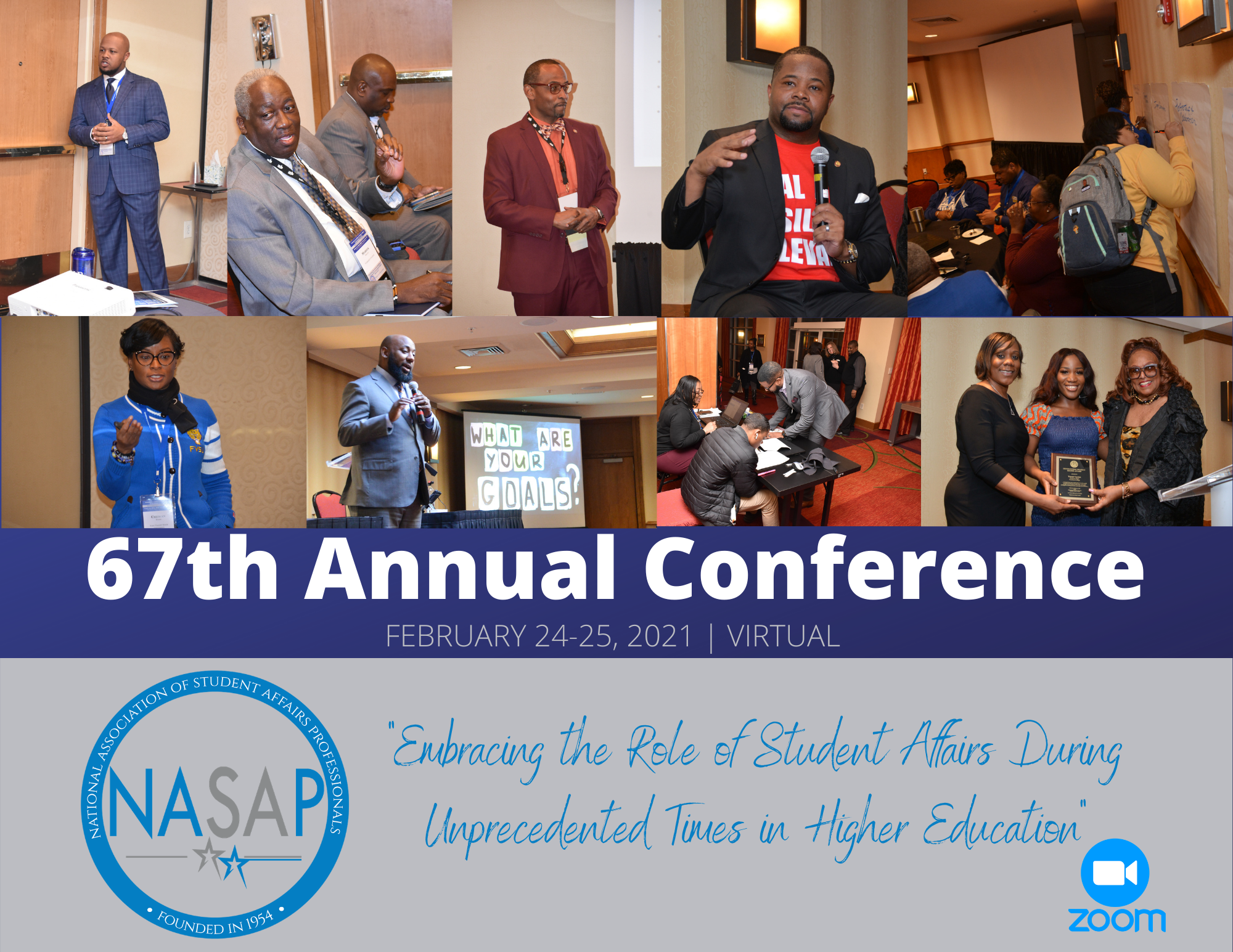 NASAP 2021 Annual Conference flyer
